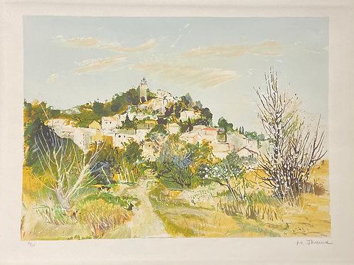 Lithographie originale de Jouenne