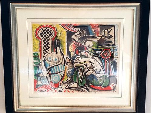 L'héritage de Delacroix - Pablo Picasso