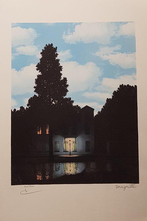 Lithographie originale de René Magritte