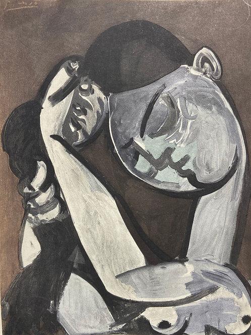 Lithographie originale de Picasso