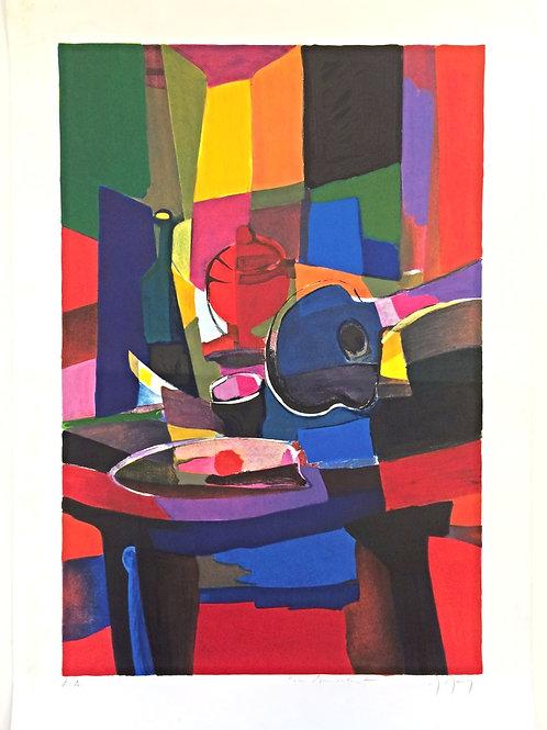 Épreuve d'artiste - Marcel Mouly