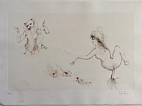 Lithographie originale - Leonor Fini
