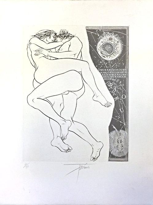 Lithographie originale - Tremois