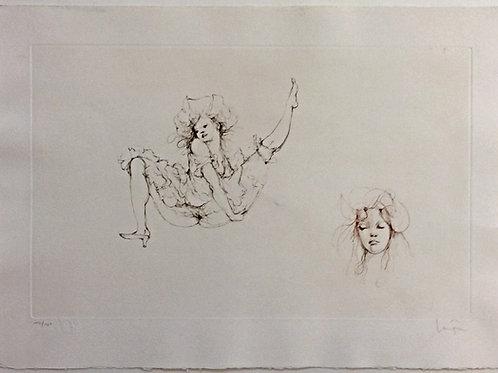 Lithographie - l'artiste Leonor Fini
