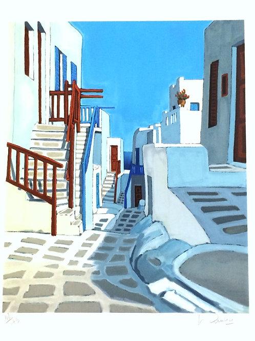 Lithographie originale - Quilici