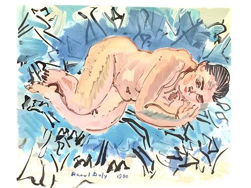 Lithographie originale - Raoul Dufy