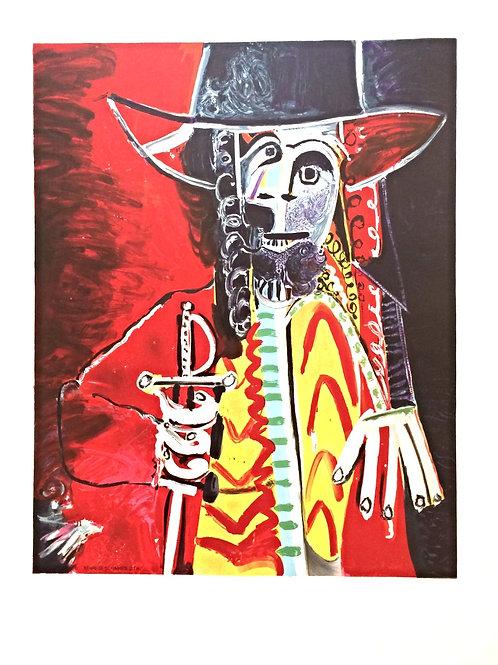 Affiche lithographique de Picasso