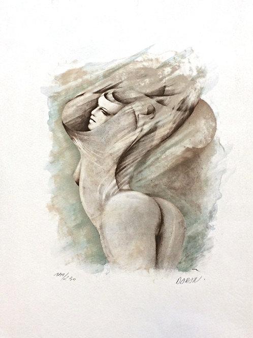 Lithographie de Gérard Daran
