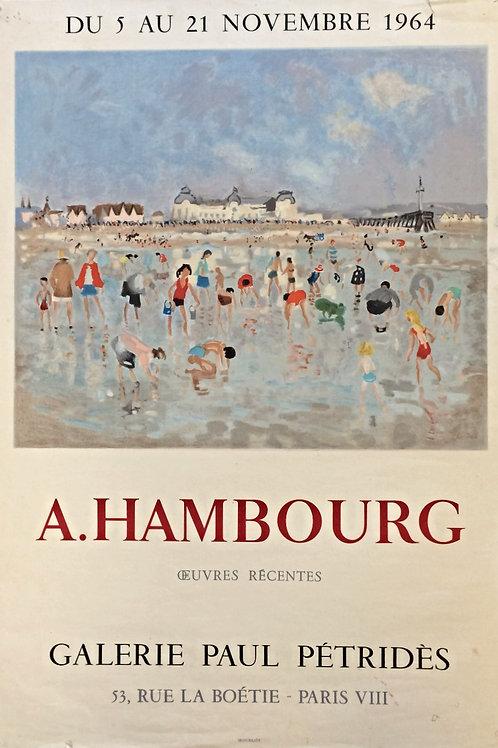 Affiche lithographique - A. Hambourg