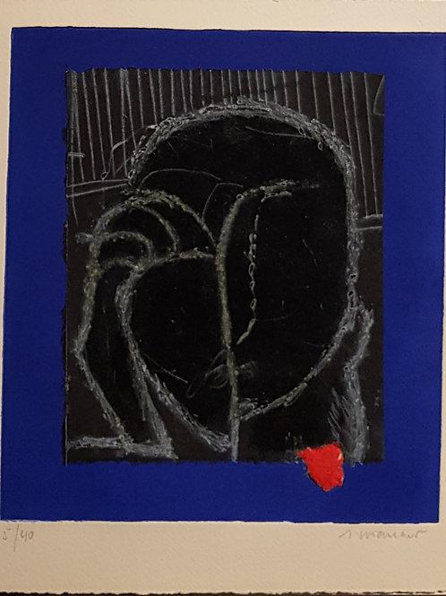 Lithographie originale de Coignard