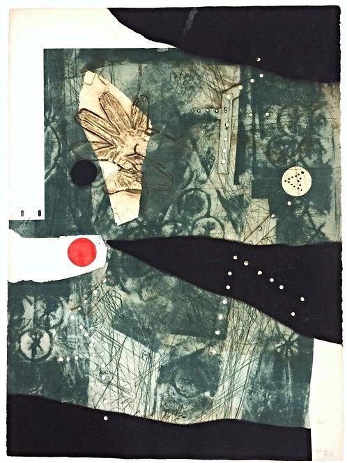 Lithographie originale - Clavé