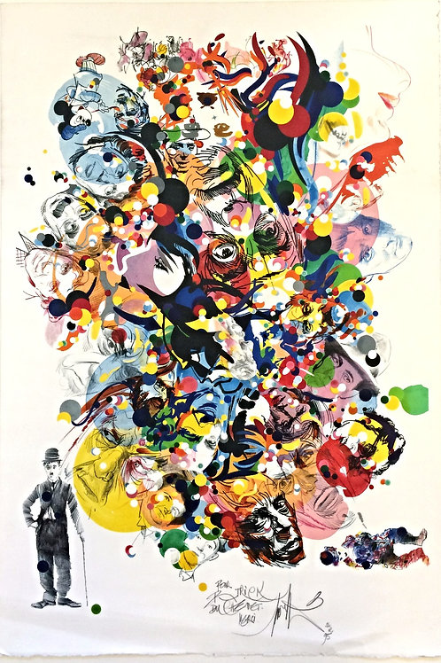 Raymond MORETTI - Lithographie encadrée -