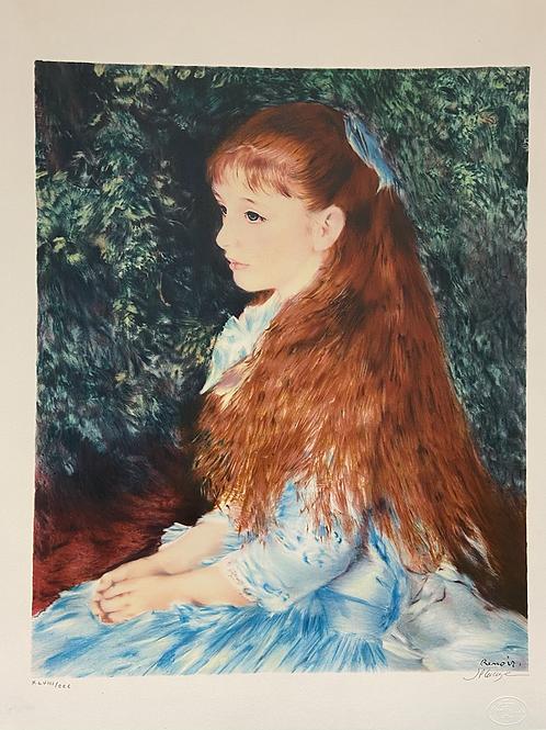 Lithographie originale de Renoir Pierre-August