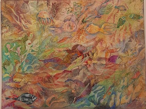 Aquarelle originale de Osanne