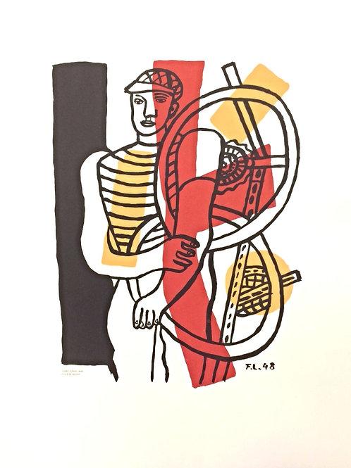 Lithographie originale - Léger