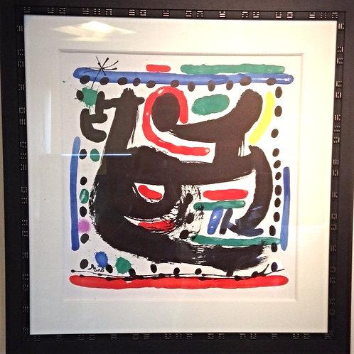 Épreuve d'artiste originale - Miro