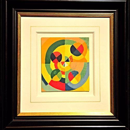 Lithographie de Delaunay encadrée