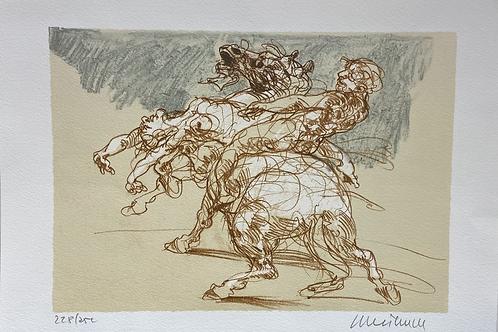 Lithographie originale de Weisbuch
