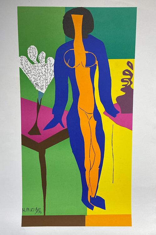 Lithographie originale de Matisse