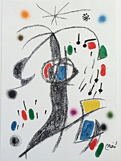 Lithographie originale - Joan Miro