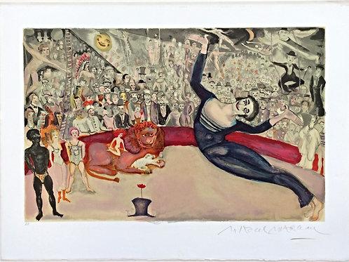 Épreuve d'artiste - Marcel Marceau