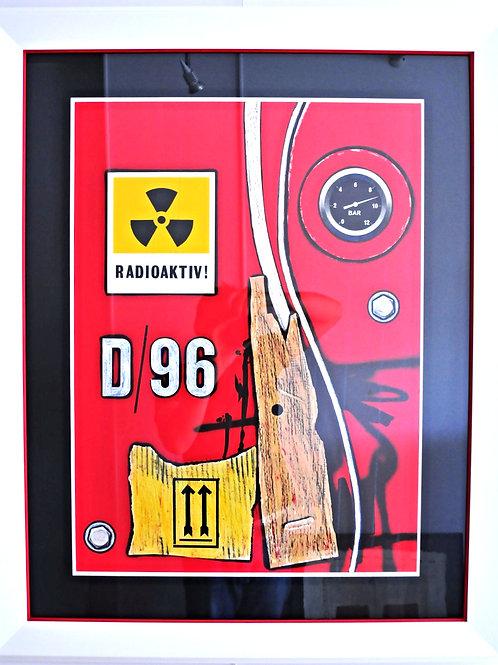 D 96 Radioactiv - Peter Klasen
