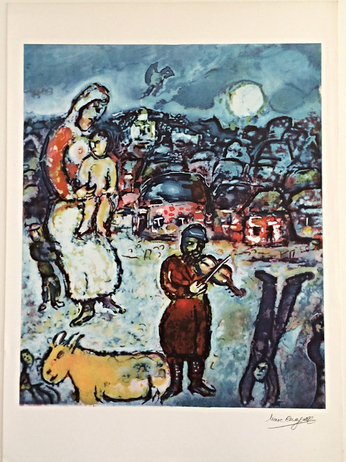 Oeuvre de Marc Chagall
