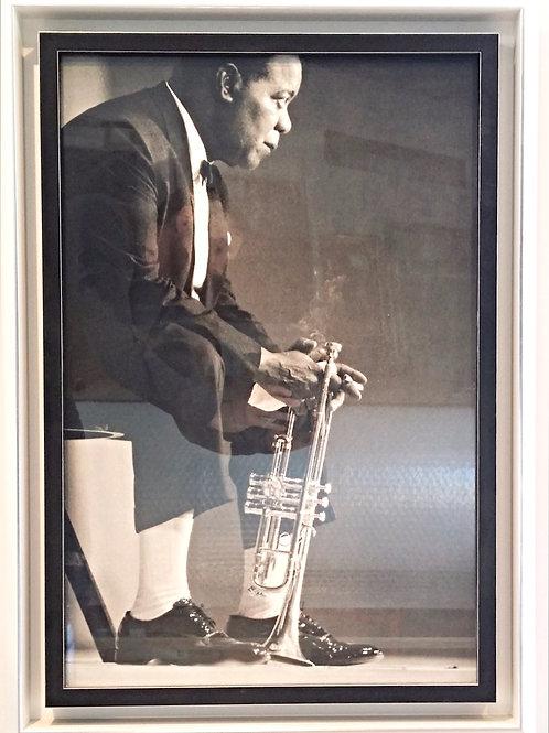 Poster de Louis Armstrong encadré