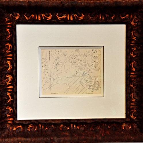 Lithographie originale - Matisse