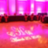 Signature Gobo Projection - Wedding DJ