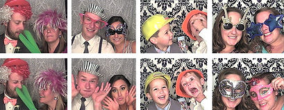 Elementary school dance photo booth