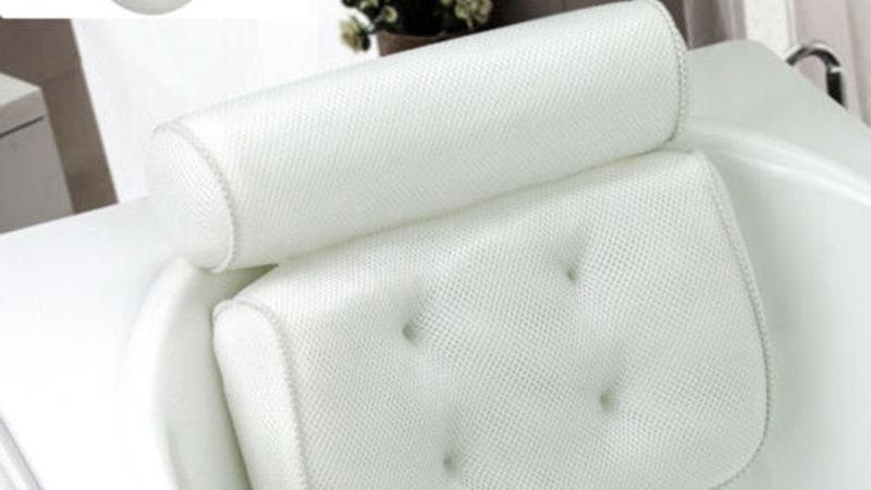 3D Mesh Bathtub Pillow (Non-Slip)