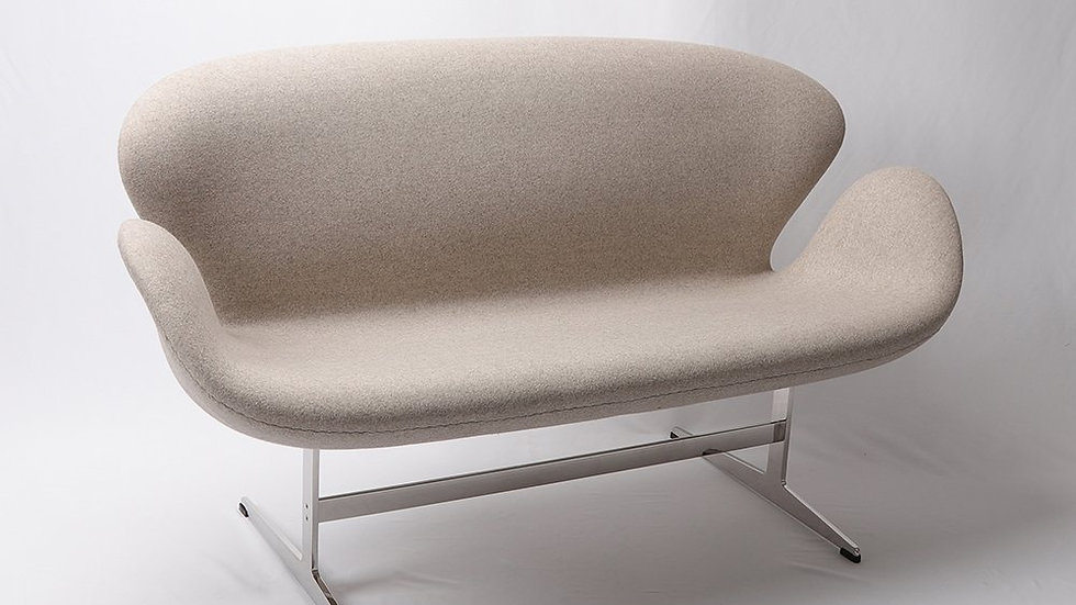 Waylon Loveseat 2-Seater Sofa - Cashmere Wool