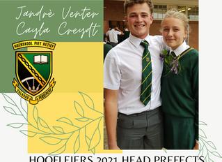 HOOFLEIERS 2021 HEAD PREFECTS