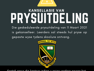 PRYSUITDELING | PRIZE-GIVING