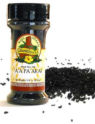 'A 'A Pa 'Akai — Black Hawaiian Sea Salt