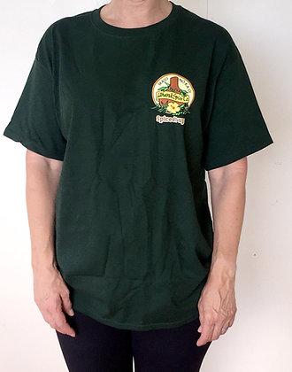 """""""Pu'u Kukui Rainforest Green"""" Lahaina Spice Company T-shirt"""