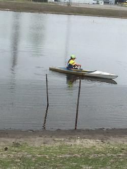 kayak planting