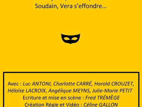 """""""Mais qui à tué Véra ?"""" de Fred Trémège le 28 janvier au théâtre de NESLE"""