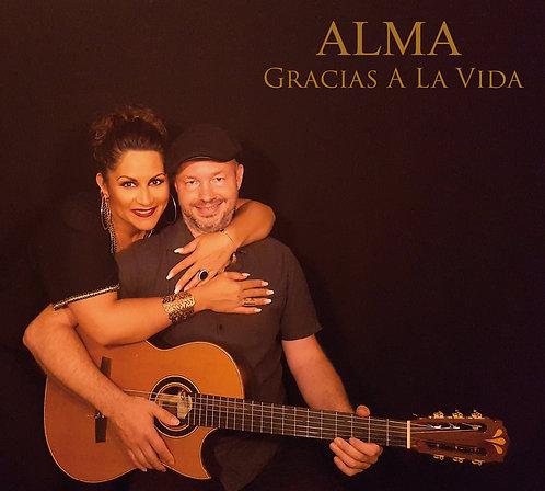 ALMA - CD - ALBUM  GRACIAS A LA VIDA