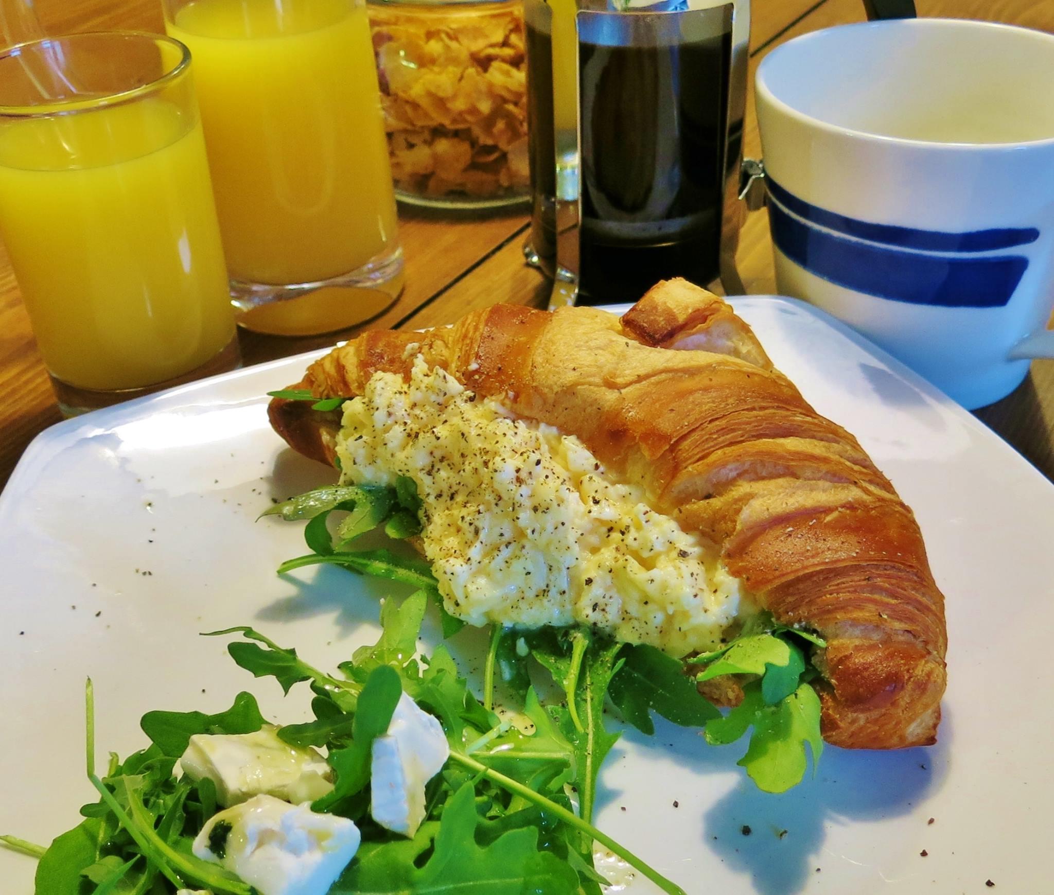 Fantastic breakfast choices!