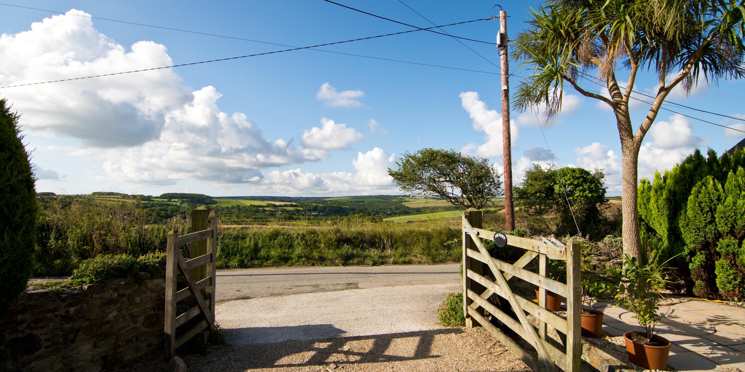Beautiful farmland views