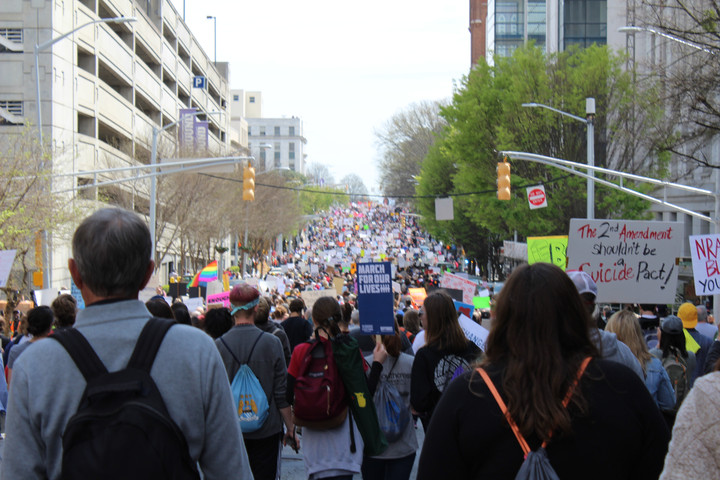 Oglethorpe Students Participate in the March for Our Lives on Atlanta
