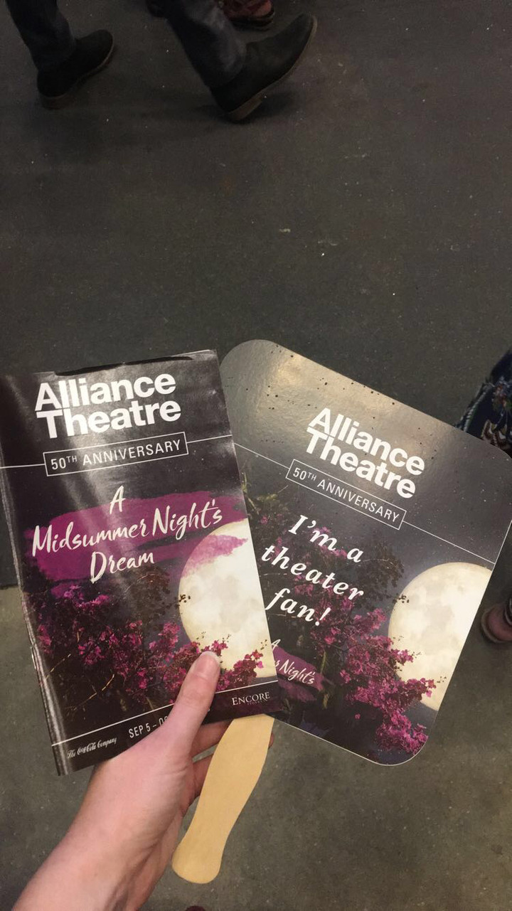 The Alliance Theater takes a whimsical approach on Shakespeare's classic A Midsummer Night's Dream: