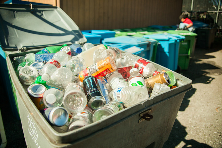 Recycling on Oglethorpe campus: Yes, it's the real deal