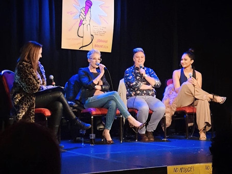 """No Apologies"" Fringe Festival 2019 – The Chat Show"