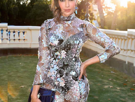 Virgin Australia Melbourne Fashion Festival Launch at Government House