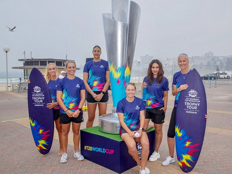 Launch of the International Women's Cricket T20 Trophy Tour
