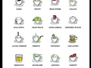 Nos chers littérateurs en leur tasse de thé