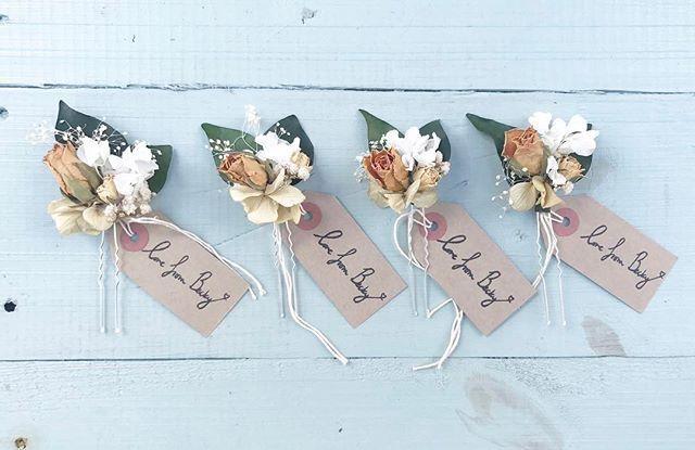 Happy Sunday! Here's so pretty bridesmaids clips from a few weeks back! #instawedding #weddinghair #